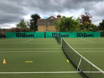 Wilson Vindseil for tennisbane. 2 x 18 meter.