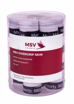 MSV OVERGRIP SKIN PERFORATED 24 PACK -WHITE