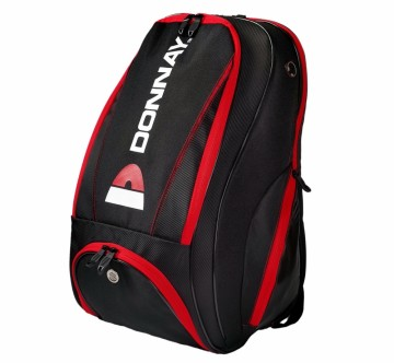 DONNAY BACKPACK RØD/SORT